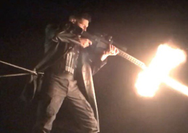 Jon Bernthal Reveals The Punisher in Action