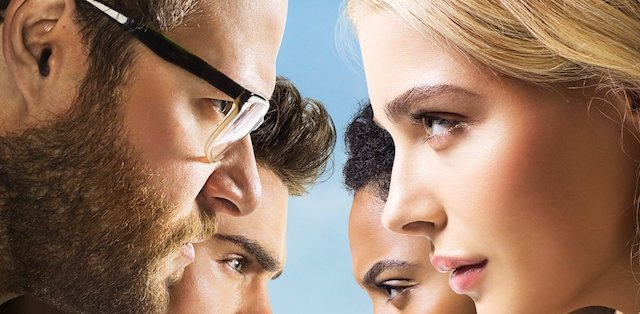 Take a look at the new Neighbors 2 movie poster.