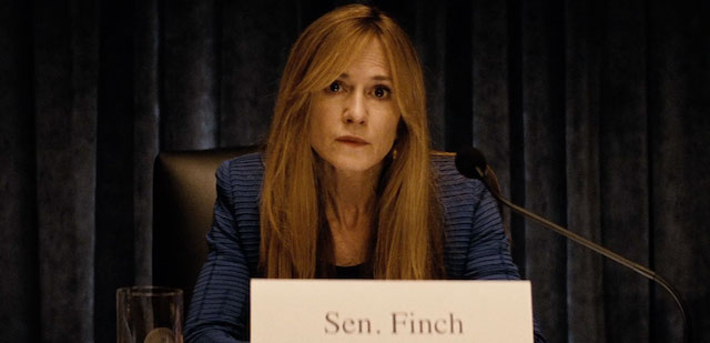 Holly Hunter is playing one of the newly created Batman v Superman characters.