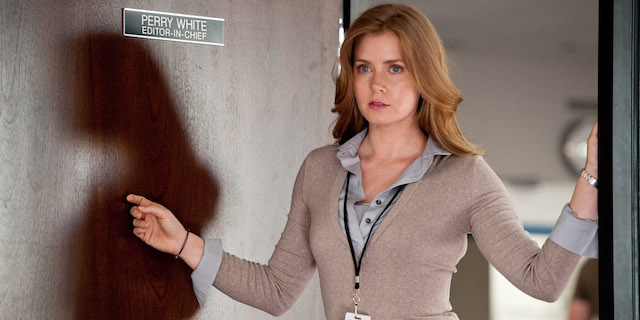 Lois Lane is one of several Batman v Superman characters returning from Man of Steel.
