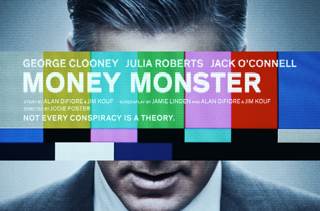 Sony Pictures Releases the Money Monster Poster