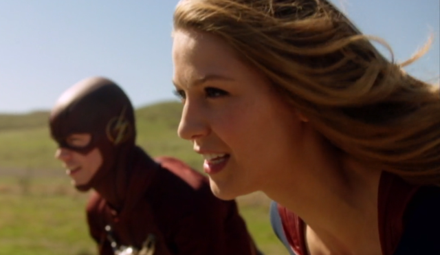 Supergirl: Episode 18 The promo pictures of the crossover with The Flash!