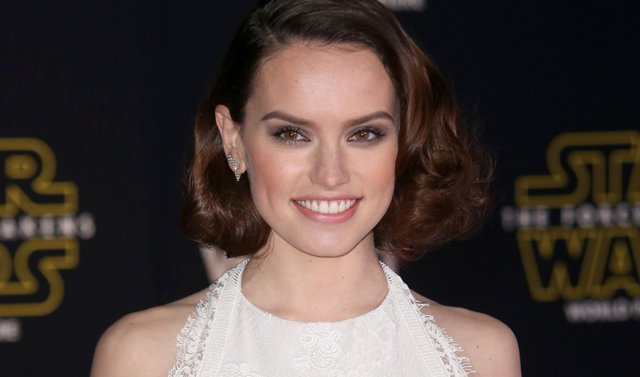Daisy Ridley Shows Off Her Jedi Training!