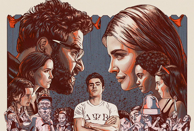New Neighbors 2: Sorority Rising Trailer and Illustrated Poster