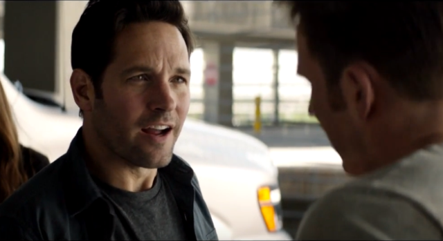 Ant-Man Meets Team Cap in a New Captain America: Civil War Clip