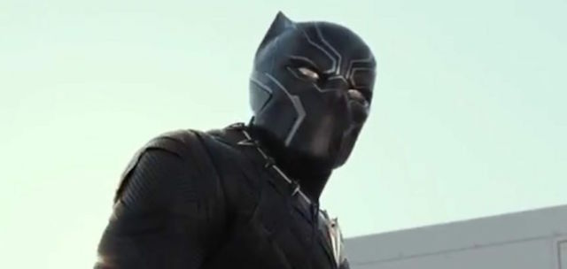 Black Panther is one of the new Civil War characters.