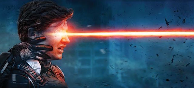 Tye Sheridan plays Cyclops in the X-Men: Apocalypse cast.