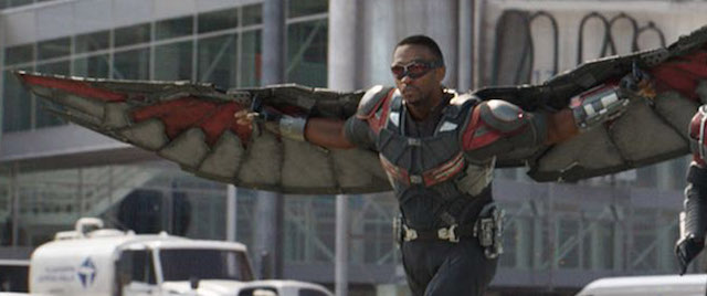 Falcon is another of the key Civil War characters.