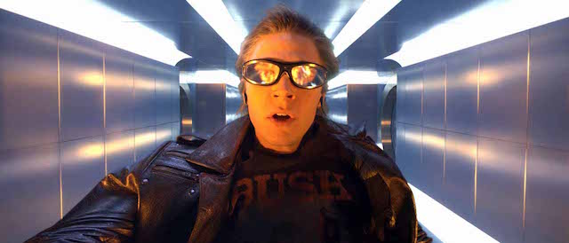 Evan Peters returns as Quicksilver in the X-Men: Apocalypse cast.
