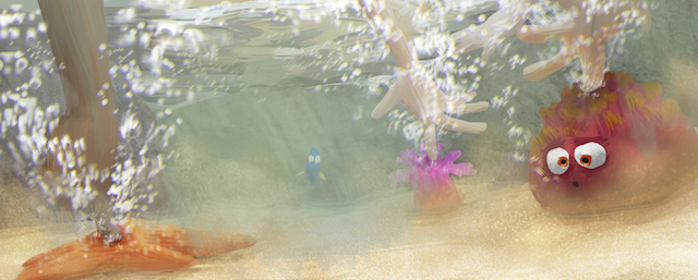 A touch pool scene is featured in the Finding Dory movie.