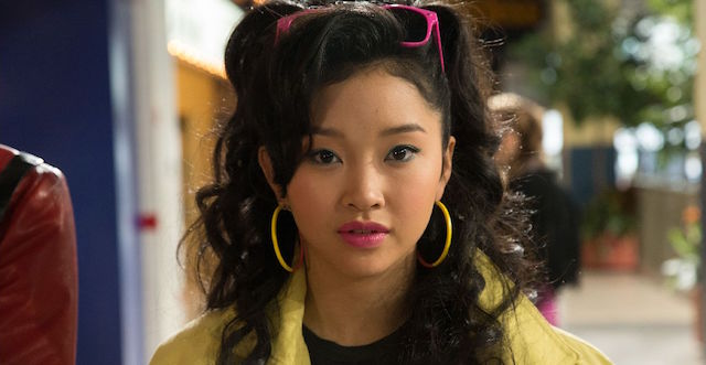 Lana Condor plays Jubilee in the X-Men: Apocalypse cast.