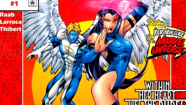 Crimson Dawn starred Angel and Psylocke.