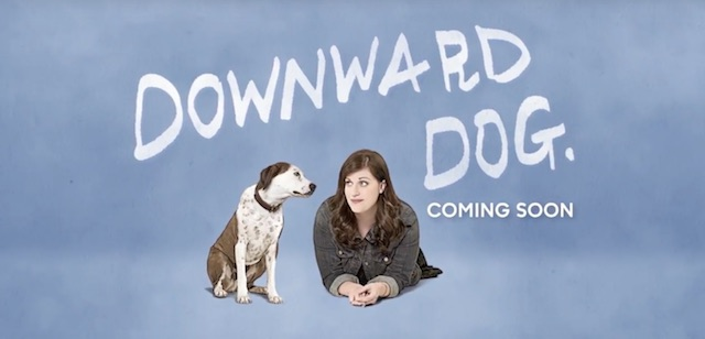 Downward Dog is another of the new ABC 2016 series.