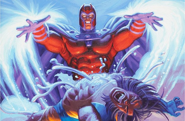 Our X-Men Magneto spotlight includes his showdown with Wolverine.