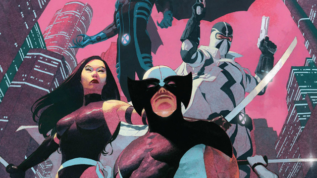 Psylocke was part of the Uncanny X-Force lineup.