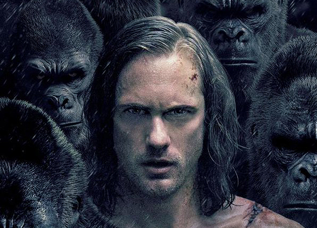 The Legend of Tarzan IMAX Poster Looks Angry