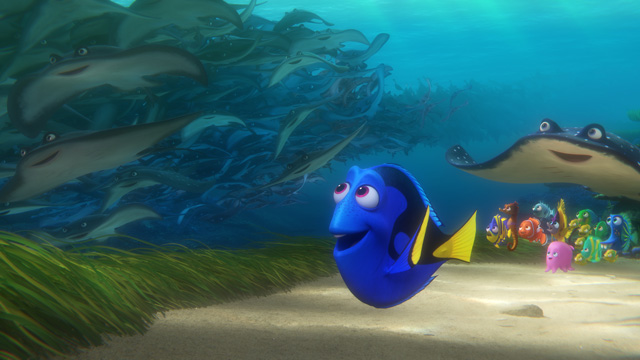 Finding Dory swims to record opening for an animated film