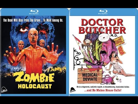 Doctor Butcher M.D / Zombie Holocaust Blu-ray Review