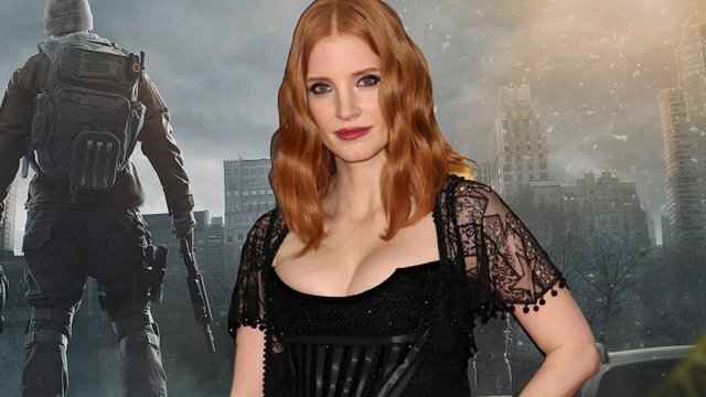 Jessica Chastain Eyes Tom Clancy's The Division