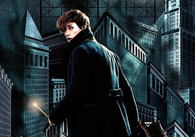 Fantastic Beasts Comic-Con Poster Brings Newt Scamander to the USA