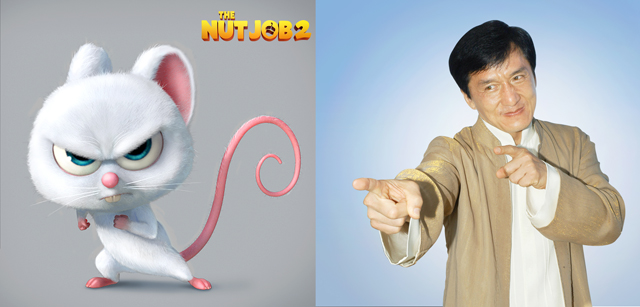 Jackie Chan Joins Voice Cast of The Nut Job 2