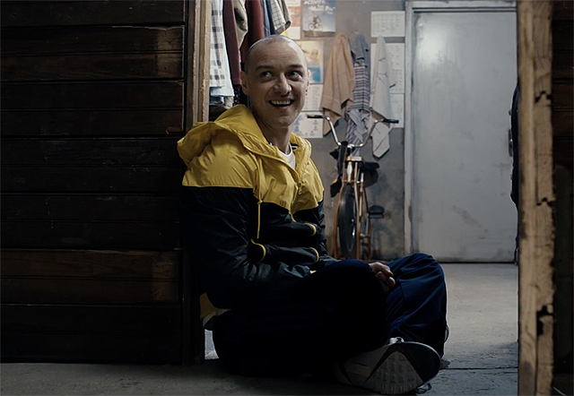 M. Night Shyamalan's Split Trailer: James McAvoy is Nuts