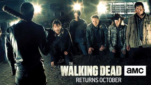 Eeny, Meeny, Miny, Moe - The Walking Dead Season 7 Poster Arrives