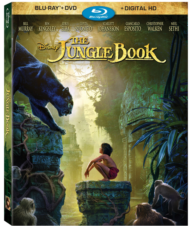 Disney's The Jungle Book Blu-ray and Digital HD Details