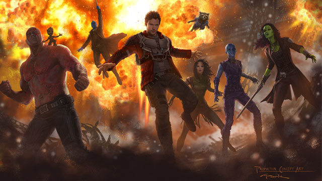 Baby Groot, Mantis and More Featured in GotG Vol. 2 Concept Art!