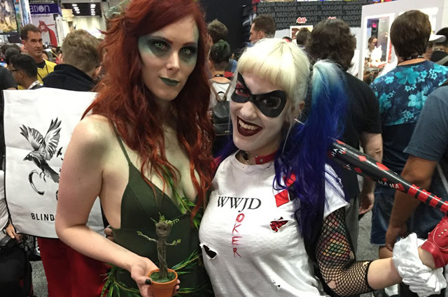 More 2016 Comic-Con Photos Including Cosplay!