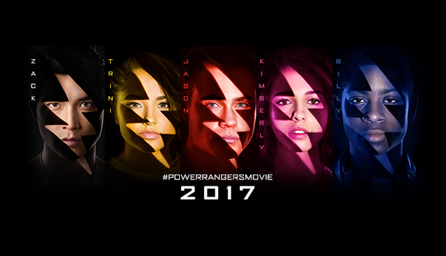 Power Rangers Character Posters Bring the Team Together