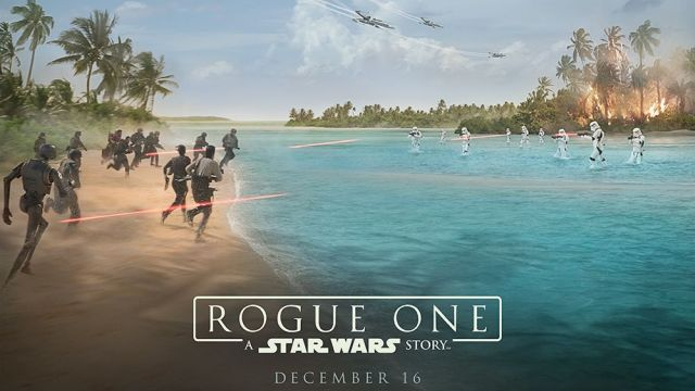 The Rogue One Sizzle Reel from Star Wars Celebration!