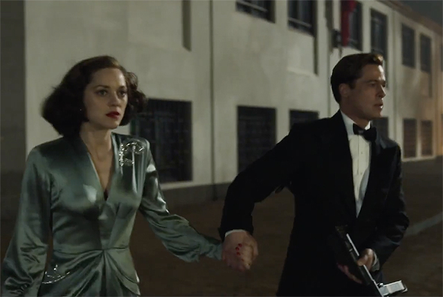 Allied Teaser Trailer Brad Pitt Marion Cotillard Are Spies