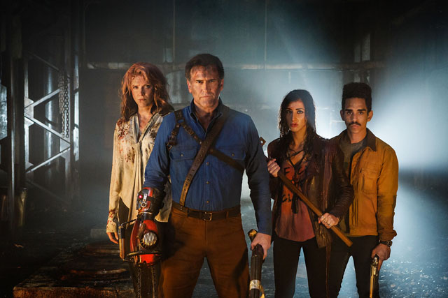 Watch This Ash vs. Evil Dead Behind the Scenes Trailer Tour!