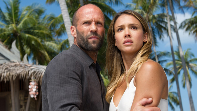 The Mechanic: Resurrection's Jessica Alba and Jason Statham sit down with CS.