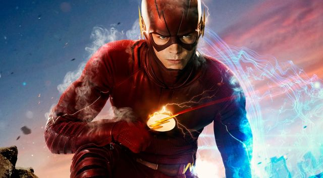 Grant Gustin Teases Back to the Future Moment in The Flash Season 3