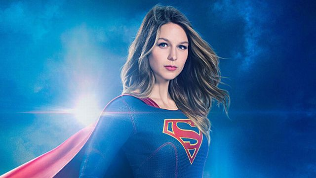 SUPERGIRL Steps Up for Her First CW Poster