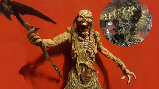 Todd McFarlane released a Blair Witch action figure, which continues the Blair Witch legend.
