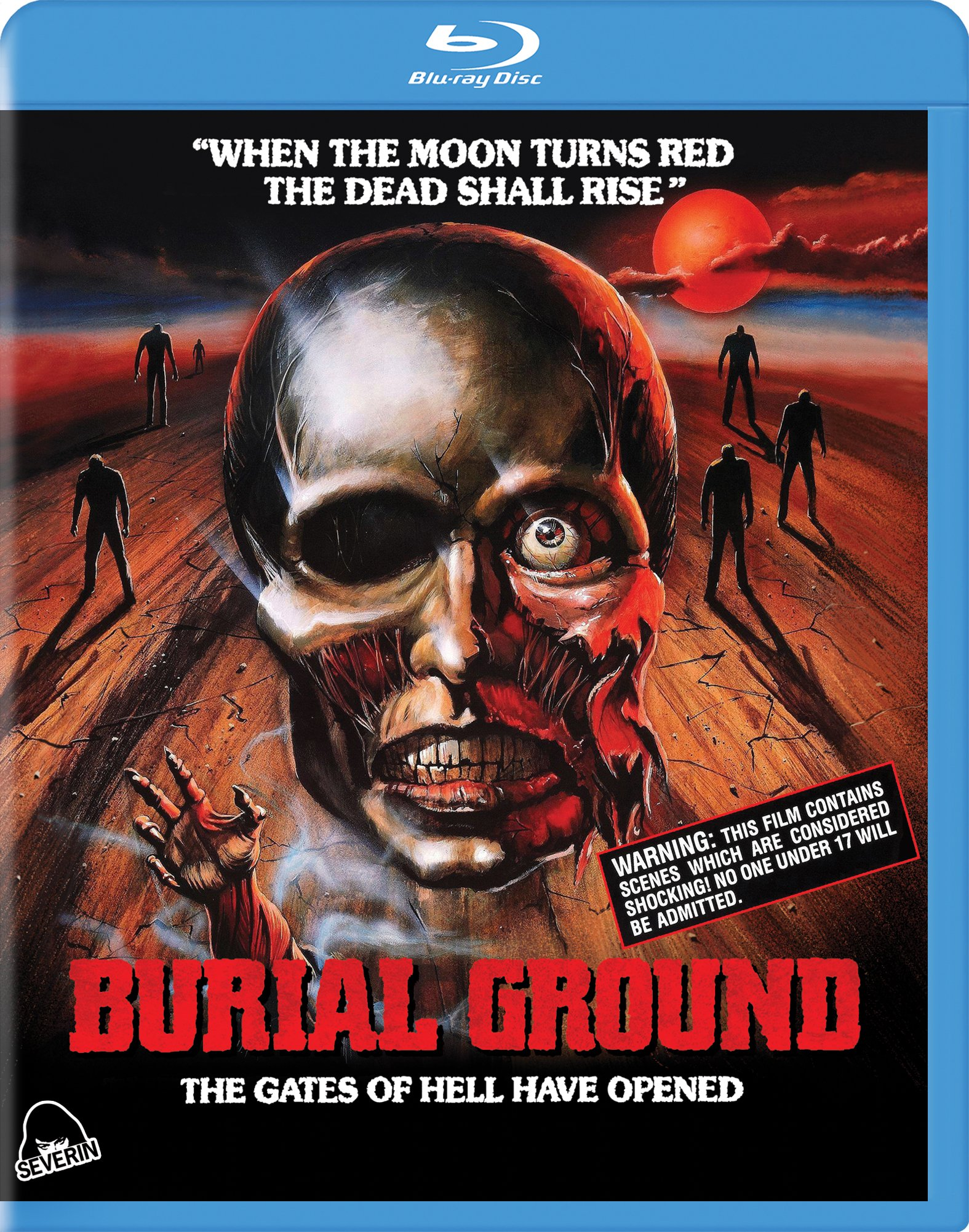 Burial Ground BD SIDE A key art with case