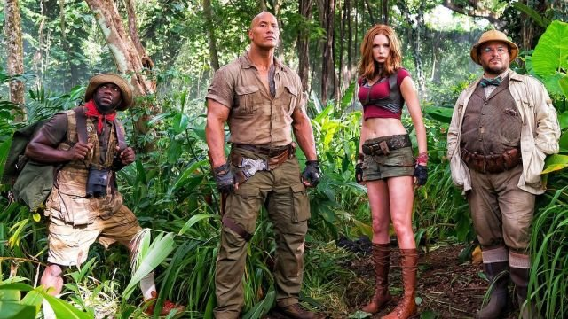First Photo from the Set of the Jumanji Sequel!
