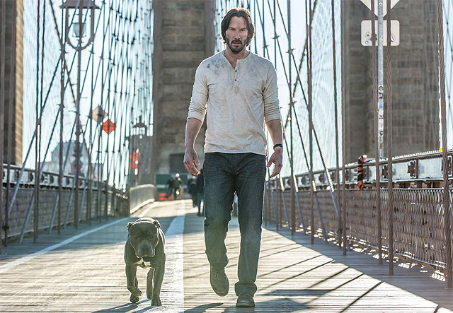 Keanu Reeves is back in new John Wick: Chapter Two images
