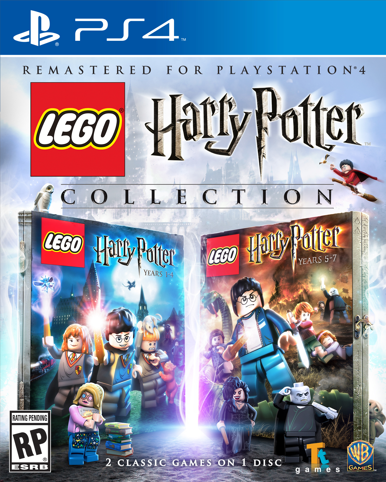 LEGO Harry Potter Collection Announced for PlayStation 4
