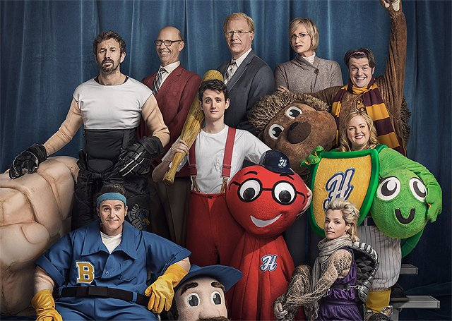Mascots Trailer & Key Art for the Netflix Comedy Movie