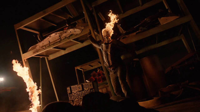 Ghost Rider Clip from Marvel's Agents of SHIELD!