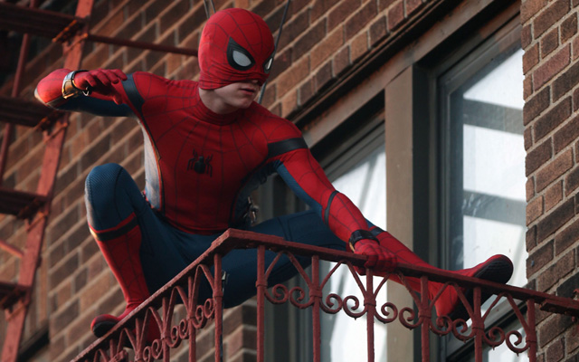 New Photos from the Spider-Man Filming in New York!