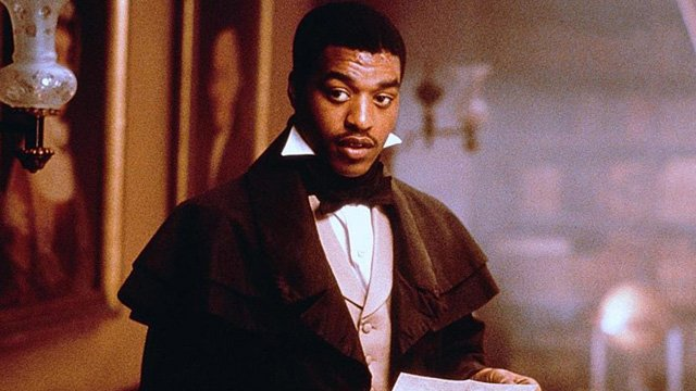 Amistad is earliest on the Chiwetel Ejiofor movies list.