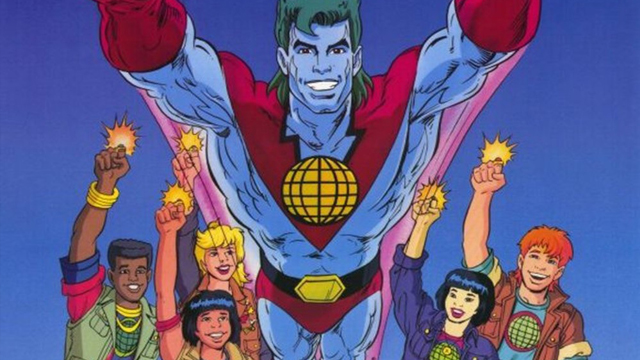 There's a Captain Planet movie on the way!