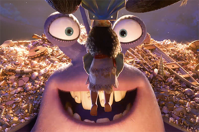 Jemaine Clement Introduces Moana Character Tamatoa