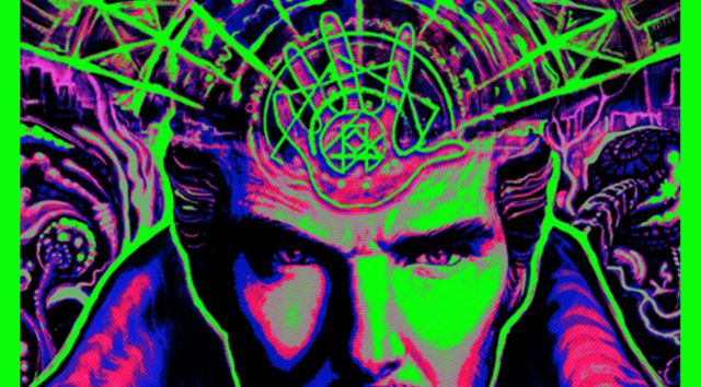 Doctor Strange Blacklight Posters Revealed