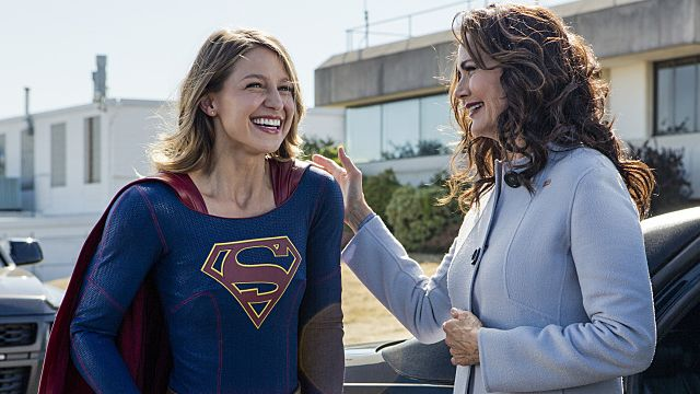 Supergirl Protects President Lynda Carter in New Clip